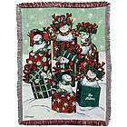 Snow Family Throw Blanket