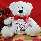 Personalized Valentine Teddy Bear