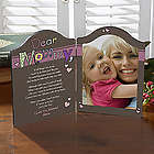 Why We Need Mom or Grandma Personalized Photo Plaque