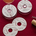 Personalized Cocktail Party Wine Tags
