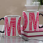 Repeating Name for Her Personalized Coffee Mug