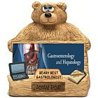 Personalized Bear Business Card Holder for Gastrologist