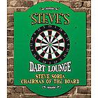 Dart Lounge Personalized Wall Sign