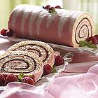 Hand-Rolled Raspberry Swirl Cake