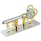 Key to Success Desk Clock with Stand