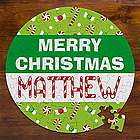 Personalized Merry Christmas Jigsaw Puzzle