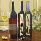 Fleurish Wine Bottle Personalized Wine Accesory Gift Set