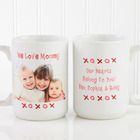 Loving You Personalized Large Photo Coffee Mug