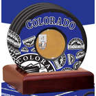 Colorado Rockies Coaster with Game Used Dirt