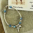 Girl's Christian Daughter Scripture Bracelet
