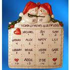 Grandparent's Quilt of Love Christmas Ornament