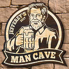 Burly Bar Personalized Man Cave Sign