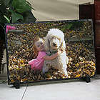Picture Perfect Personalized Pet Photo Stone