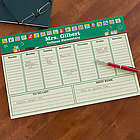 Teacher's Personalized Desk Pad Weekly Planner