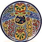 """Mexican Talavera 12"""" Decorative Plate"""