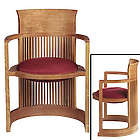 Frank Lloyd Wright Taliesin Barrel Chair