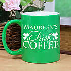 Personalized My Irish Coffee Two-Tone Mug