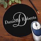 Personalized Classic Monogram Mouse Pad