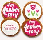 The New Chocolate Anniversary Message Cookies