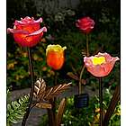 Solar Rose Garden Stake