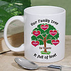 Our Family Tree Personalized Mug