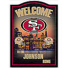 Personalized San Francisco 49ers Wall Decor