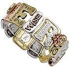 Personalized Sentiment Tile Bracelet