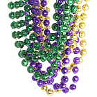Mardi Gras Disco Ball Beads