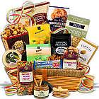 Gourmet Snacks Sympathy Gift Basket