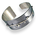 Journey Sterling Silver Tapered Cuff Bracelet