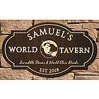 Wordly Tavern Personalized Bar Sign