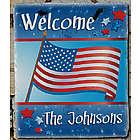 July 4th Personalized Slate Plaque
