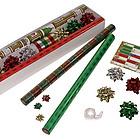Classic Foil Christmas Gift Wrap