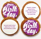 #HappyBirthday Decorated Cookies