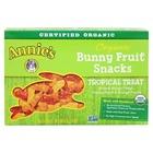 Annie's Tropical Treat Homegrown Organic Bunny Fruit Snacks