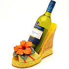 Hibiscus Summer Wine Bottle Holder