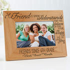Friends Forever 4x6 Personalized Picture Frame