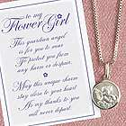 Flower Girl Guardian Angel Necklace