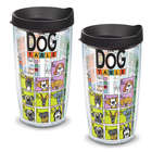 2 Dog Periodic Table 16 Tervis Tumblers with Lids