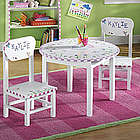 Girls Dragonfly Table and Chair Set