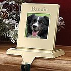 Pet Photo Memories Stocking Holder