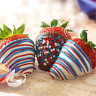 Stars and Stripes Chocolate Strawberries