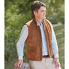 Gentlemen's Washable Suede Vest