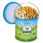 1 Gallon of Popcorn in Golf Club Tin