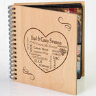 Our Life Together Personalized Photo Album for Couples