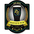 Gold Medal Pub Personalized Bar Sign