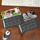 Personalized Photo and Calendar Mouse Pad