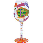 """K"" Wine Glass"