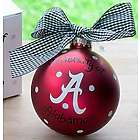 University of Alabama Logo Ornament
