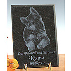 Diamond Black Granite Indoor Outdoor Memorial